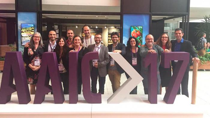 BBRC researchers at the AAIC 2017