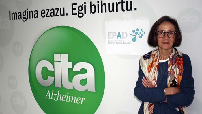 Aranzazu is the first participant enrolled in the European Prevention of Alzheimer's Dementia (EPAD) project in San Sebastian,