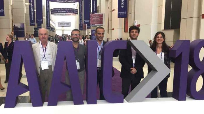 BBRC researchers at the AAIC 2018